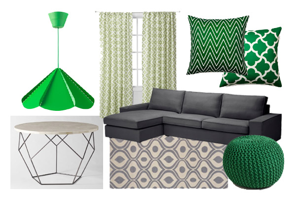 pantone color of the year, emerald, design, color, palette