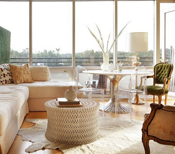 decorating with neutrals, neutral palette, texture, pattern, luxe, modern, lucite