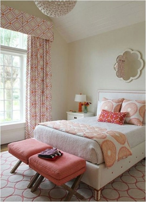 pink color palette, interior design, decorating with pink, benjamin moore paint colors, pink and orange