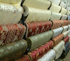 Pilsen fabric store, upholstery fabrics, chicago, interior design, budget decorating, redesign