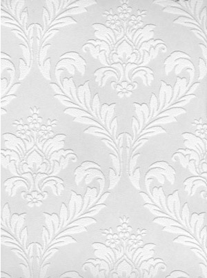 Paintable damask pattern wallpaper | Chicago ReDesign