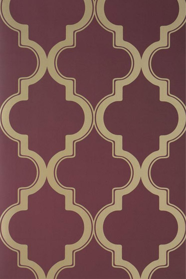 removable wallpaper, moroccon pattern