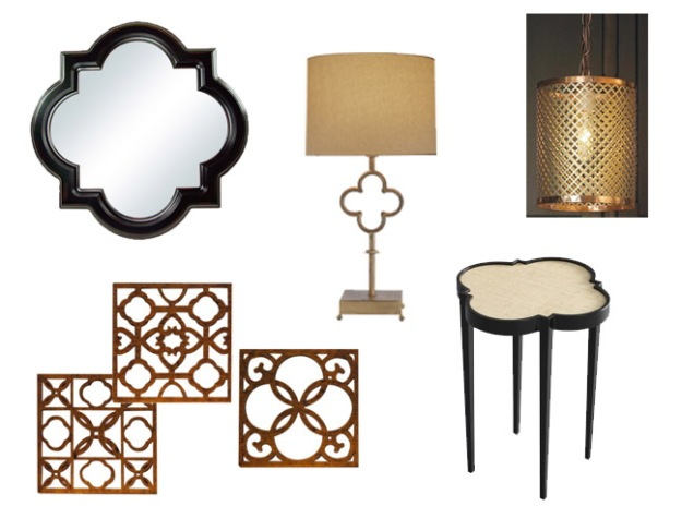 Quatrefoil patterned furniture and home decor accessories | Chicago ReDesign