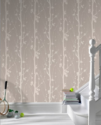 Solitude wallpaper. Perfect for a Master Bedroom sanctuary | Chicago ReDesign