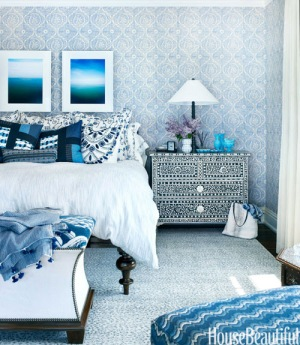 Bedroom Designed by Martin Horner | House Beautiful