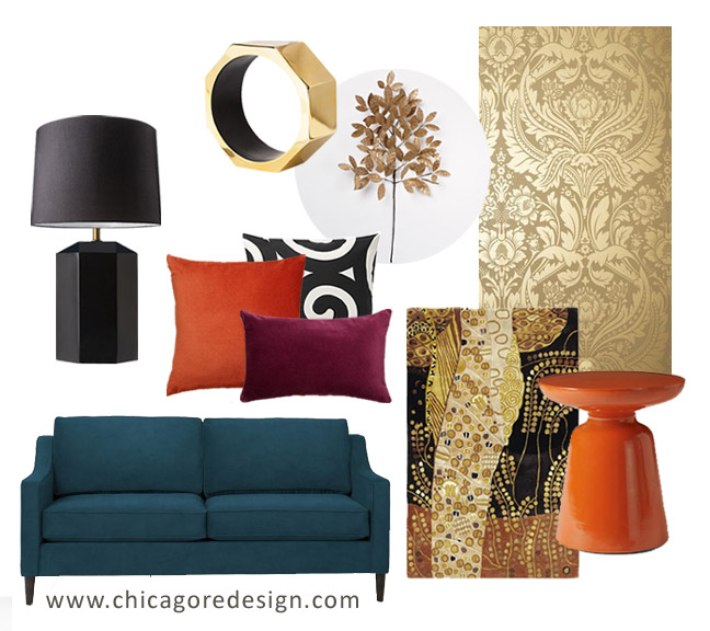 Color Inspiration Gustav Klimt S Golden Phase Chicago