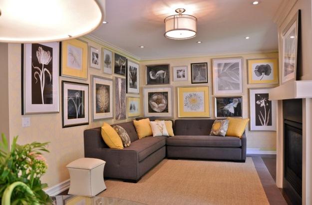 Color Inspiration: Yellow + Gray