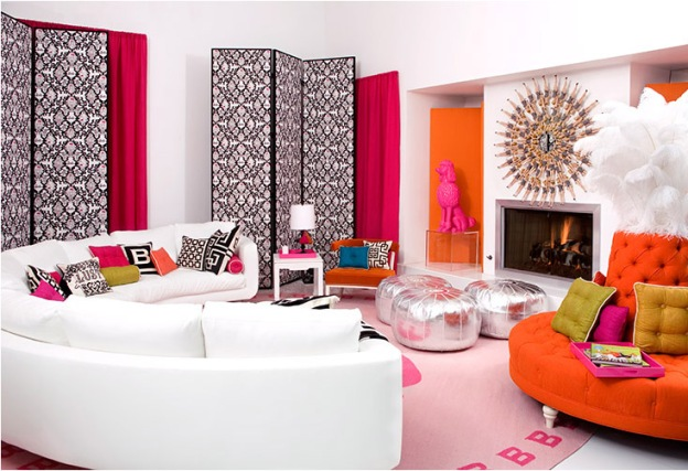 Color Inspiration: Pink + Orange