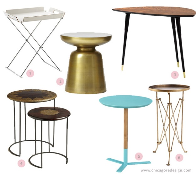 Beautiful and Budget Friendly Accent Tables | Chicago ReDesign